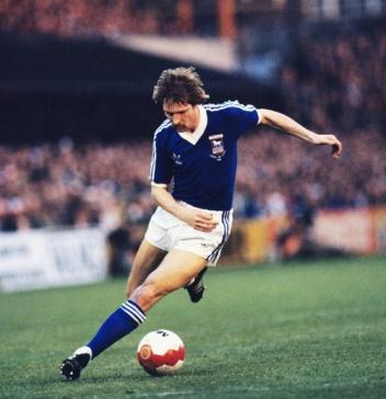 Englands Fußballer des Jahres 1981: Frans Thijssen.