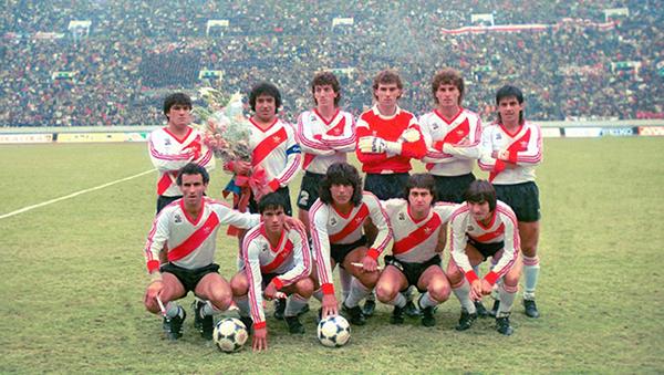 Imagen para ser utilizada en Album de Figuritas de River Plate.